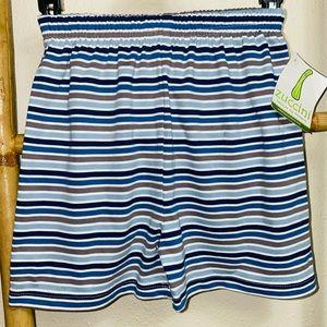 NWT Zuccini basic boy 6 shorts striped blue